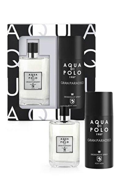 Aynı Butikte 2. Ürün 1 TL Gran Paradiso Edp 50 ml  Erkek Parfüm-Sprey Deodorant Set APPXGR03EPD