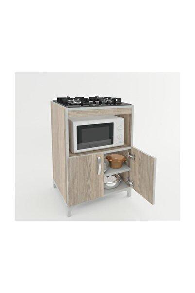 Kenzlife Ocak Dolabı Bade Crd 85*60*57 Mutfak Modül Mini Fırın Ankastre Ocak Için
