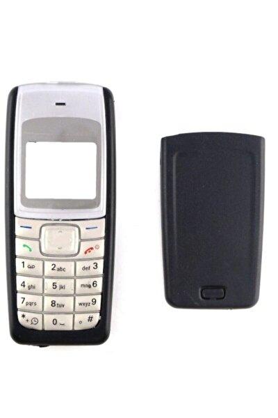 Nokia Nokıa 1110 Ön Ve Arka Kapak + Tuş Takımı Set Siyah