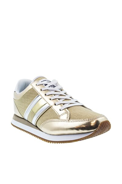 Tommy Hilfiger Retro Kadın Sarı Spor Ayakkabı (EN0EN00413-715)