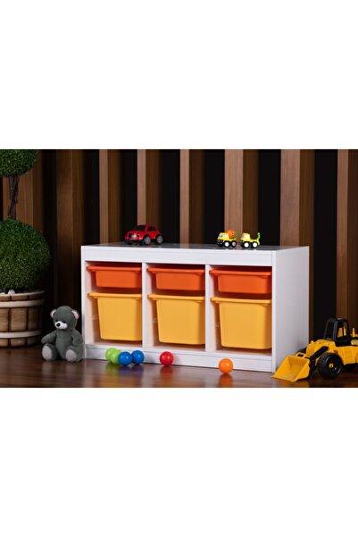 Vip Home Viphome Montessori Oyuncak Dolabı Trofast Saklama Düzenleme Ünitesi