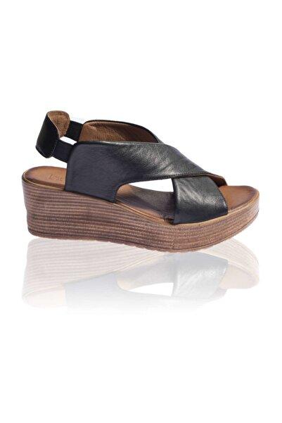 BUENO Shoes Siyah Bayan Sandalet 9l3402