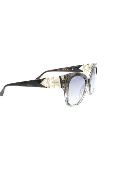 Guess Kadın Kare Güneş Gözlüğü GU 7596 20X