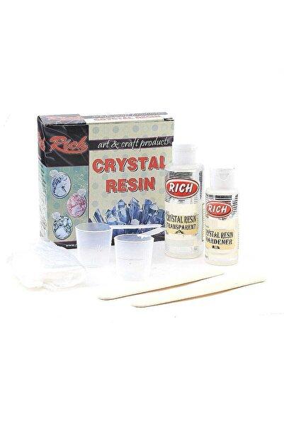 Rich Kristal Şeffaf Reçine Seti