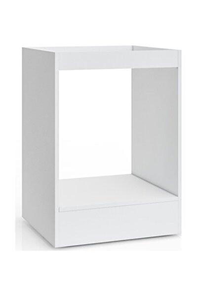 massan Ankastre Kabin Modül  Tüm Setlere Uygun Kabin Modül Beyaz - Üsküp