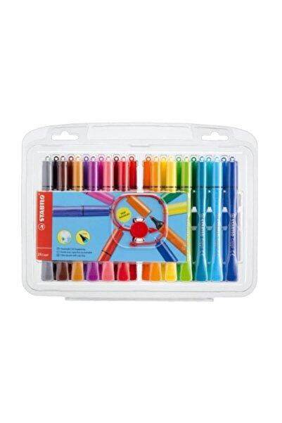 Stabilo Cappi Keçe Uçlu Kalem 24 Renk