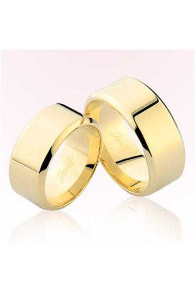 Harem Altın Kadın Sarı Altın Alyans 5807