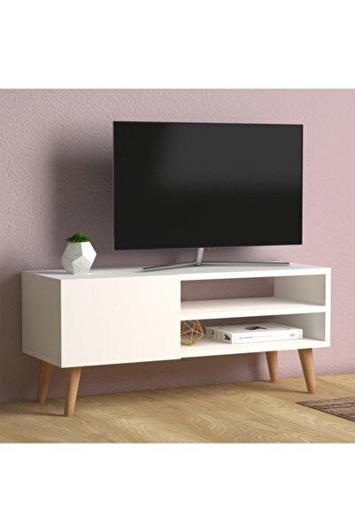 Monte Sehpa Porto Tv Sehpası Beyaz