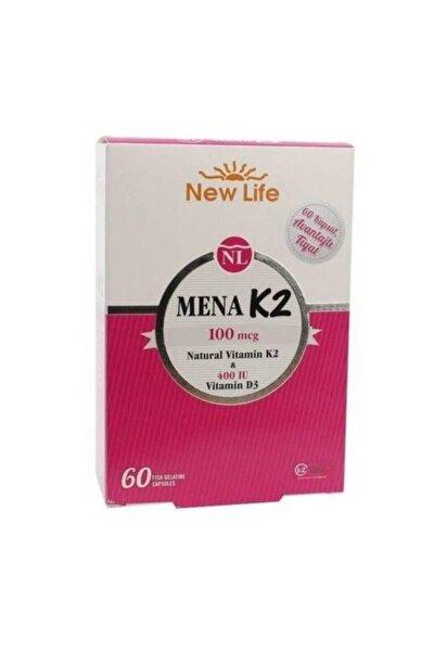 New Life Mena K2 + D3 60 Kapsül