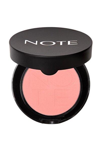 NOTE Luminous Silk Compact Blusher 06 Sandy Pink