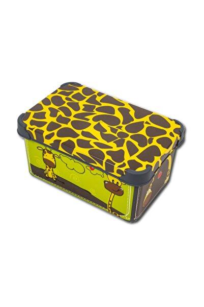 QUTU Style Box Giraffe - 5 Litre Dekoratif Saklama Kutusu