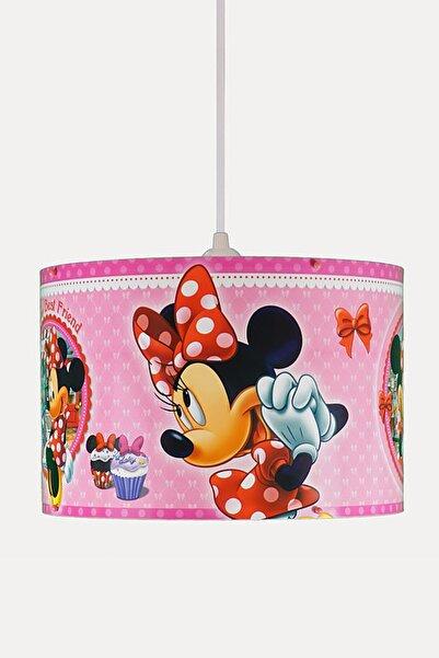 DISNEY Minnie Mouse Mini Fare Sarkıt Avize-pembe