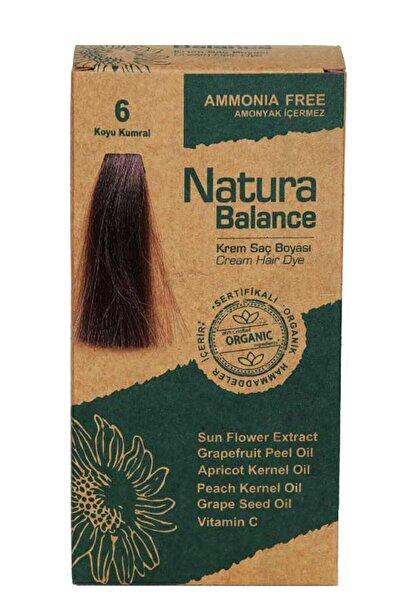 NATURABALANCE Saç Boyası  Organik Sertifikalı Koyu Kumral 6 8699367127974