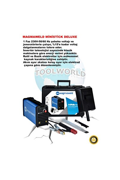 Magmaweld Ministick Deluxe(tam Takım Full Ekipman)