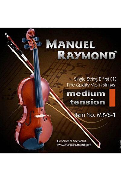 Manuel Raymond Keman Teli Tek 1. Mi MRVS1
