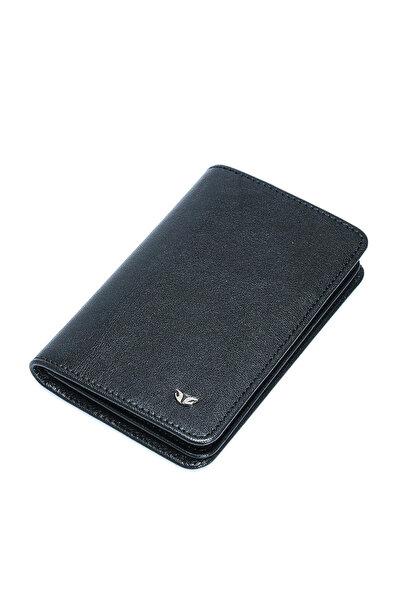 Tergan Hakiki Deri Siyah Unisex Kredi Kartlık S1KK00001508