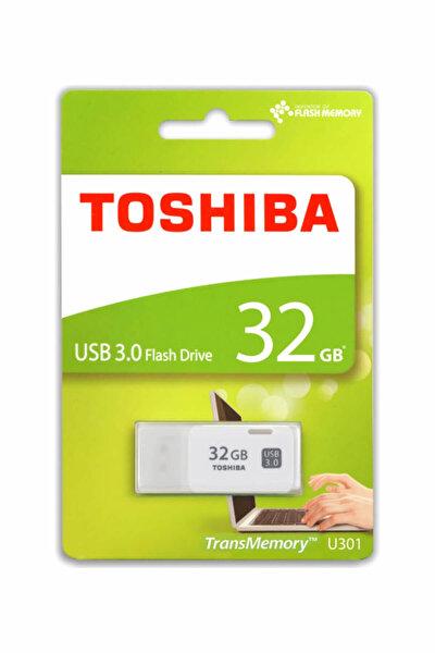 Toshiba 32 GB 3.0 Hayabusa Beyaz USB Bellek
