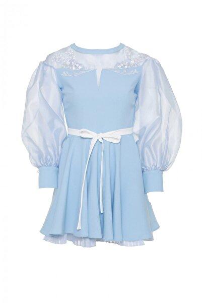 GIZIA CASUAL Kadın Organze Mini Elbise M18YEW1891XKQ