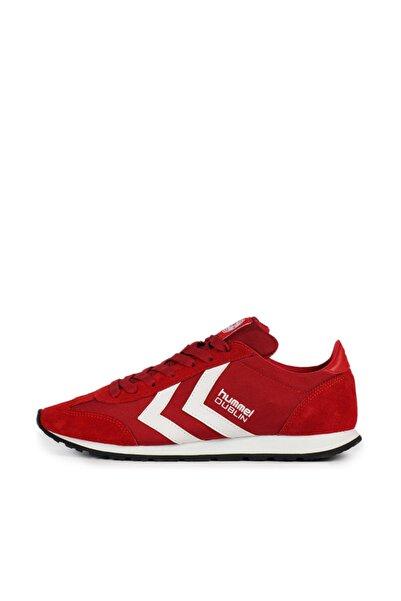 HUMMEL Unisex Kırmızı Spor Ayakkabı Hmldublin Lifestyle Shoes