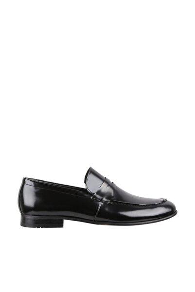 Elegante Erkek Italy Klasik Ayakkabı 130-SİYAH-AÇMA
