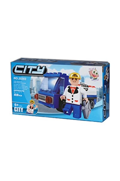ADORE OYUNCAK Lego Bricks 59 Parça City Seti