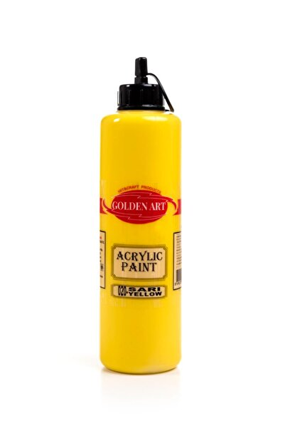 Bigpoint Golden Art Akrilik Boya 500ml - 020 Sarı
