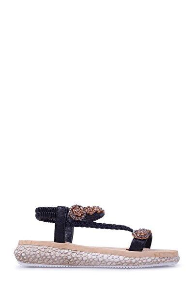 Lela Siyah Kadın Sandalet 38919Y2093