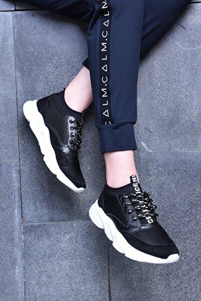 Jeep Siyah Kadın Spor Ayakkabı 9Y2SAJ0007