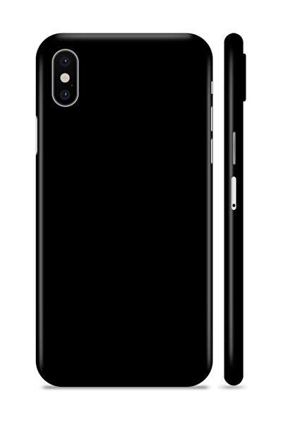 Renkli Garaj iPhone X Black Velvet Telefon Kaplama