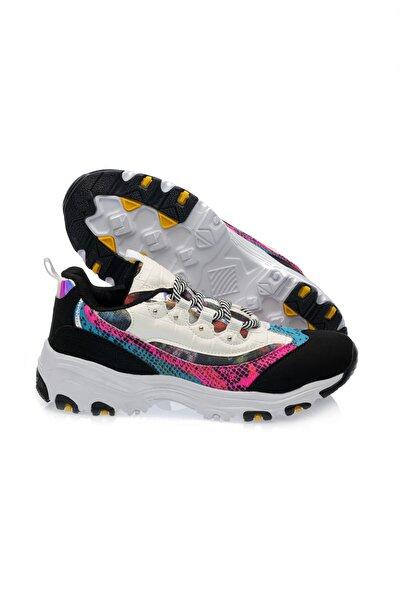 TIFFANY&TOMATO Siyah Pembe Kadın Sneaker 9150497Z