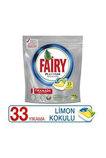 Bulaşık Makinesi Deterjanı Kapsülü Platinum Limon Kokulu 33 Yıkama