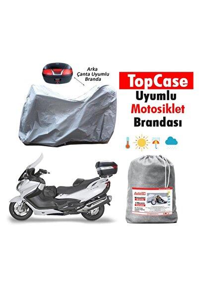 AutoEN Yamaha XMAX 250 ABS  IRON MAX ARKA ÇANTA UYUMLU Motosiklet Brandası B432