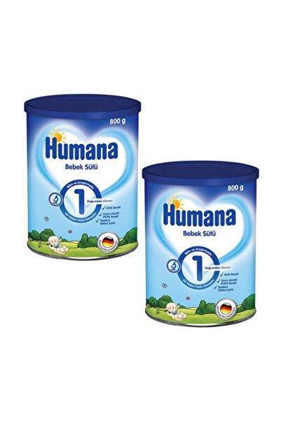 Humana 1 Bebek Sütü 800 Gr 2 Adet