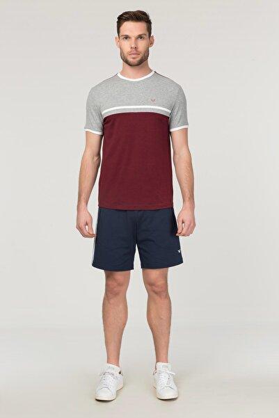 bilcee Bordo Pamuklu Erkek T-Shirt FS-1762