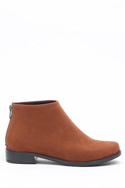 Ayakkabı Modası Taba Kadın Bot 5001-19-116001