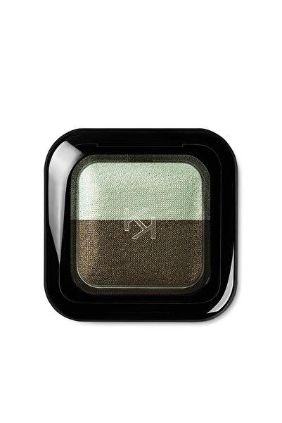 KIKO 2'li Göz Farı - Bright Duo Baked Eyeshadow 04 Metallic Golden Green-Pearly Moss Green 8025272603461