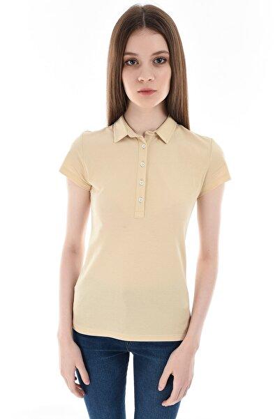 GIZA HOUSE Sarı Kadın T-Shirt