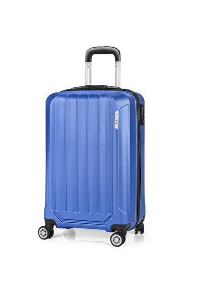 POLO&SKY Unisex Mavi Kabin Boy Valiz Psv0115