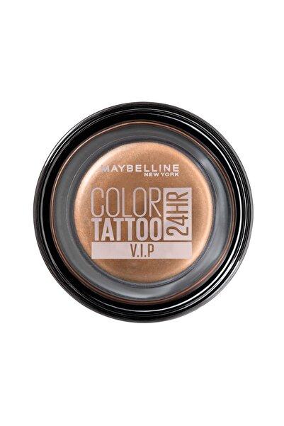 Maybelline New York Krem Göz Farı - Color Tattoo 24HR 180 V.I.P 3600531581497