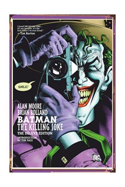 Hayat Poster Joker  Retro Vintage Ahşap Poster
