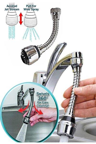 xolo Turbo Flex Plastik Hortumlu Esnek Ayarlanabilir Musluk Başlığı
