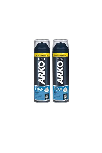 ARKO Men Tıraş Köpüğü Cool 200 ml 2'li Ekonomik Paket