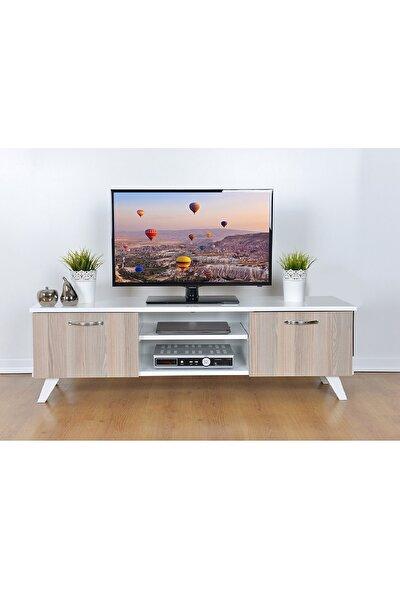 Haus Modüler Tv Sehpası Cordoba-Beyaz