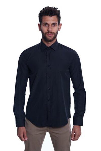 Uzun Kollu Erkek Gömlek Siyah/Black 1922034