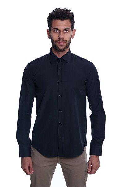 Diandor Uzun Kollu Erkek Gömlek Siyah/Black 1922034