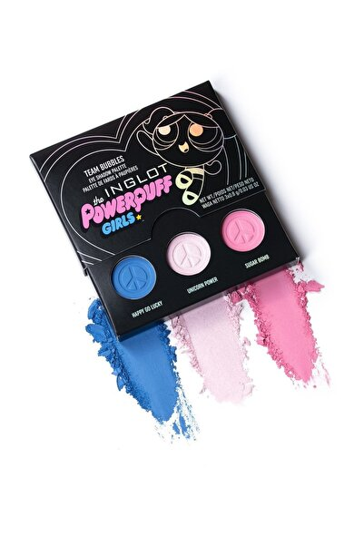 INGLOT Göz Farı Paleti - Powerpuff Girls Team Bubbles Eye Shadow Palette 5901905008397