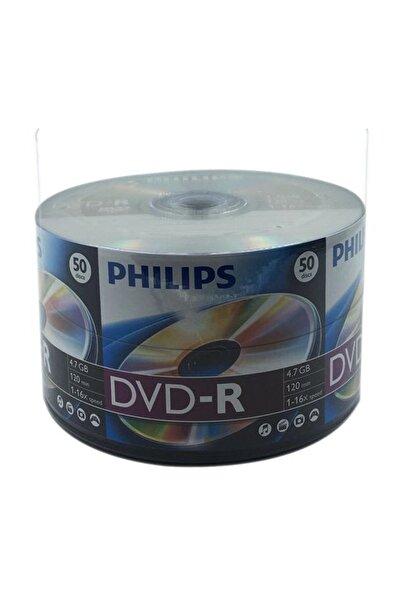 Philips 50'lik 4.7 GB DVD-R 1 Paket PHİLİPSDVD-R16X-1