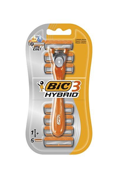 Bic 3 Hybrid Tıraş Bıçağı 6 Kartuşlu (3 Bıçak)