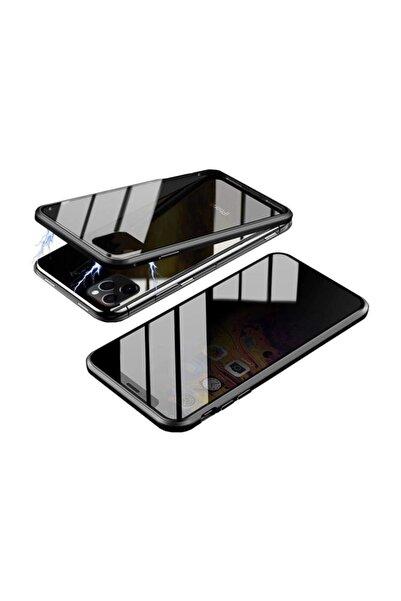 Lopard Apple Iphone 11 Pro Max Devrim Mıknatıslı Ön Arka Kapak 360 Full Metal Koruma