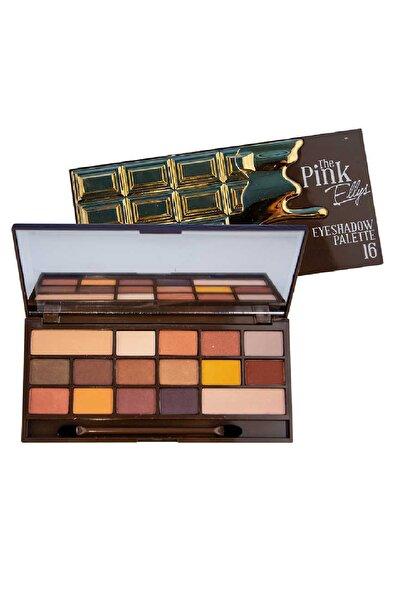 The Pink Ellys 16'lı Göz Farı Paleti 06 Gold 8699900709247